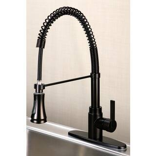 Continental Oil Rubbed Bronze Pull-down Kitchen Faucet|https://ak1.ostkcdn.com/images/products/5269066/P13085764.jpg?impolicy=medium