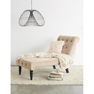 Curves Tufted Chaise Lounge