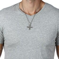 Bico Australia Pewter 'Magic Knot' Necklace