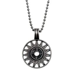 Bico Australia Pewter 'Shemish' Necklace