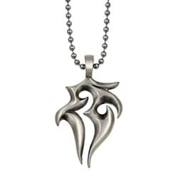 Bico Australia Silvertone Pewter The Stag Necklace