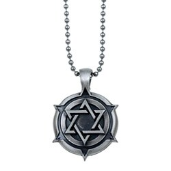 Bico Australia Pewter 'Star of David' Necklace
