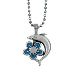 Bico Australia Silvertone Pewter Aloha Necklace