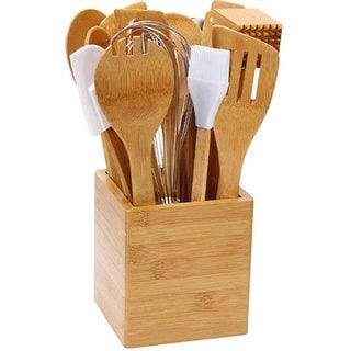 Bamboo 15-piece Kitchen Utensil Set