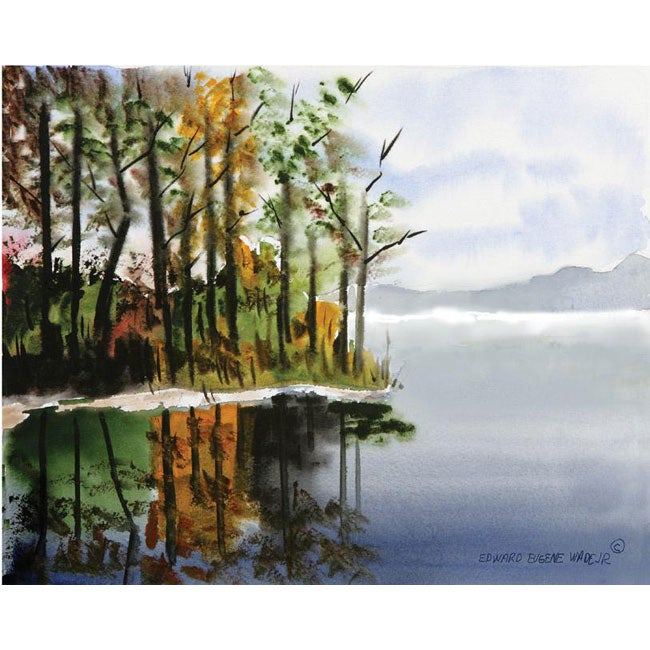 Edward Eugene Wade Jr. 'Bear Creek Cove' Art Print