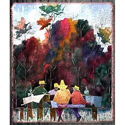 Edward Eugene Wade Jr. 'The Gold Hat Club' Art Print