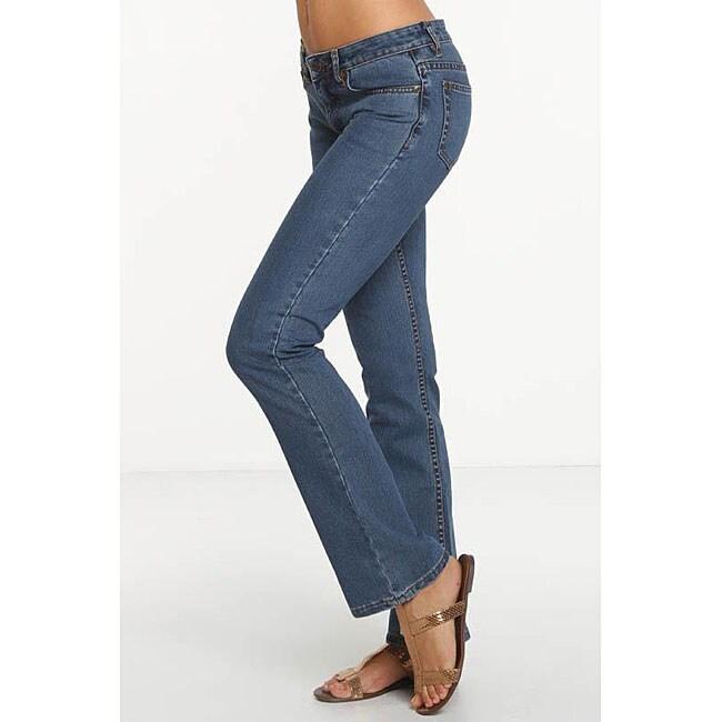 Rue Blue Women's Euro Wash Bootcut Jeans