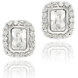 Icz Stonez Sterling Silver Cubic Zirconia Earrings