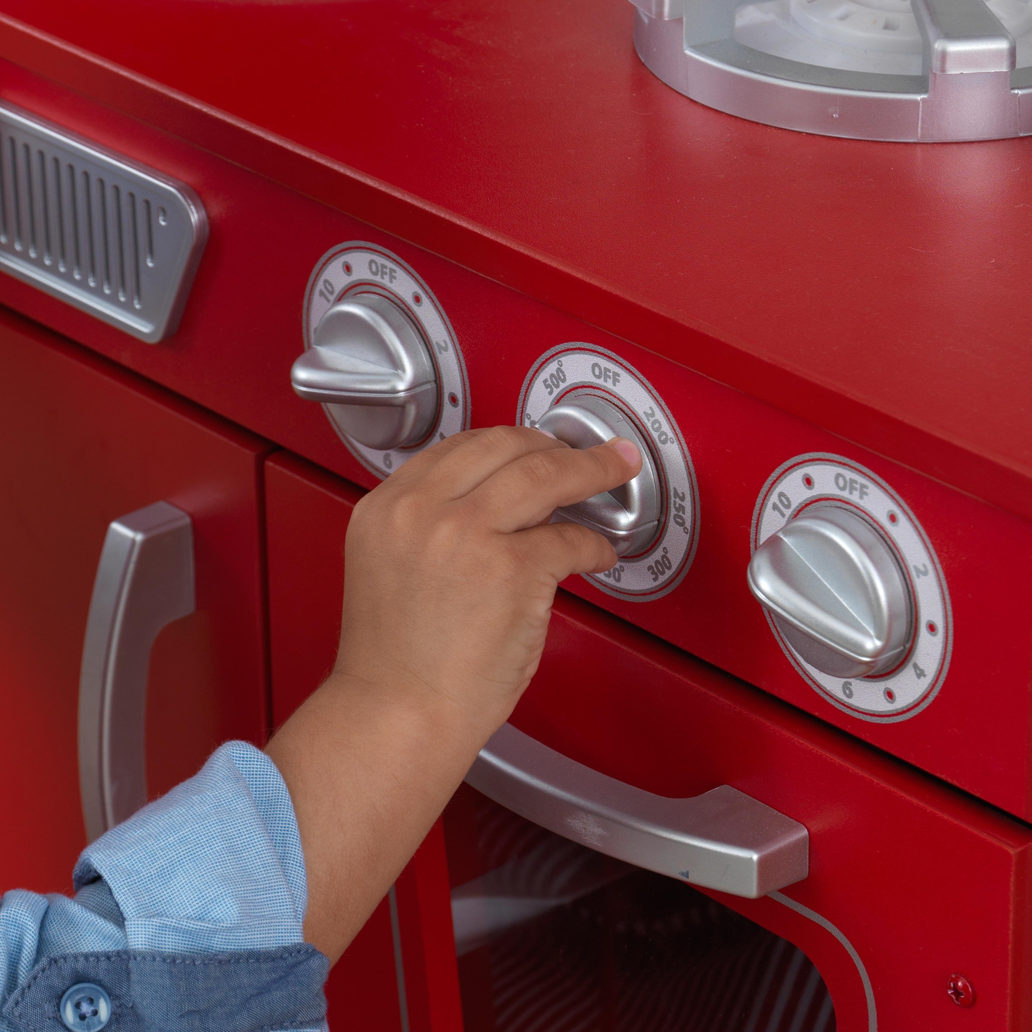 Kidkraft Red Vintage Kitchen Overstock 5271952