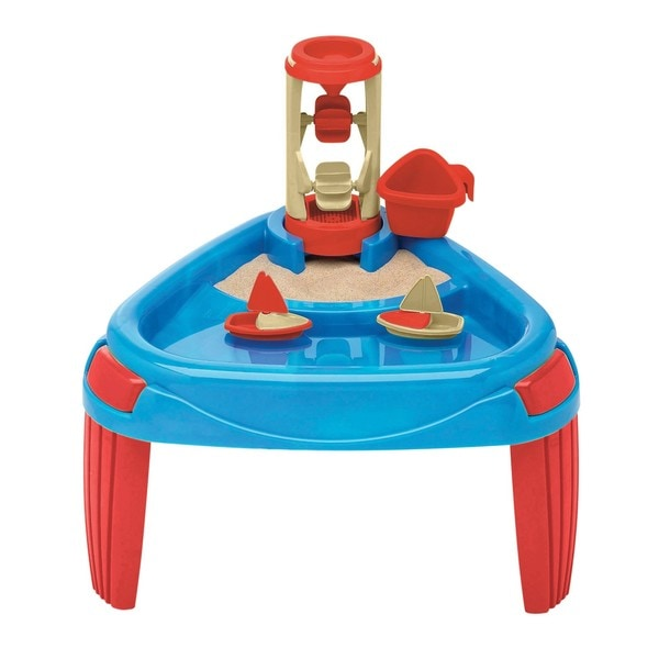 American Plastic Toy Sand and Water Wheel Play Table