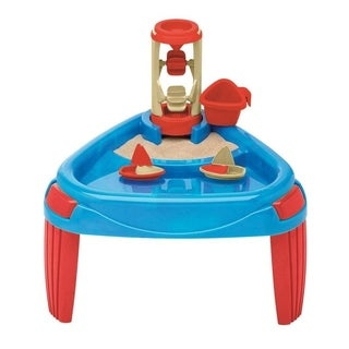 American Plastic Toys Sand and Water Wheel Play Table