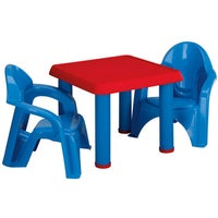 Little Tikes Bright \'n Bold Plastic Table and Chairs - Free Shipping ...