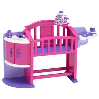 American Plastic Toys My Very Own Nursery Doll Crib
