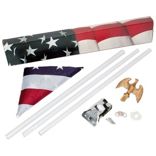 Premium American Flagpole Kits (Pack of 10)