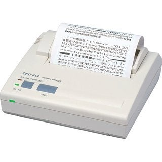 Seiko DPU414 Direct Thermal Printer - Monochrome - Portable - Receipt