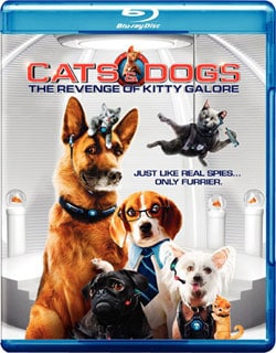 Cats & Dogs: The Revenge Of Kitty Galore (Blu-ray/DVD)