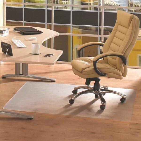 Shop Cleartex Advantagemat Pvc Rectangular Chair Mat For