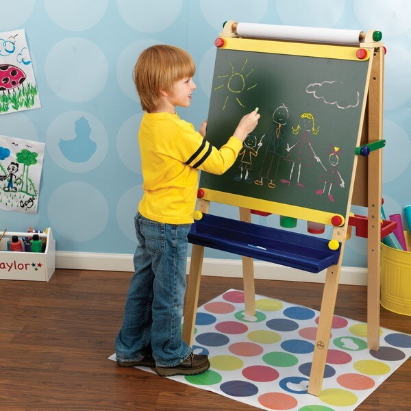 KidKraft Kid's Artist Easel with Paper
