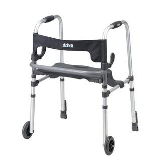 Drive Clever-Lite Rollator Walker with Seat and Push Down Brakes|https://ak1.ostkcdn.com/images/products/5274578/P13090205.jpg?impolicy=medium