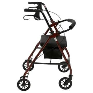 Drive Aluminum Fold Up/Removable Back Support and Padded Seat Rollator|https://ak1.ostkcdn.com/images/products/5274580/P13090303.jpg?impolicy=medium