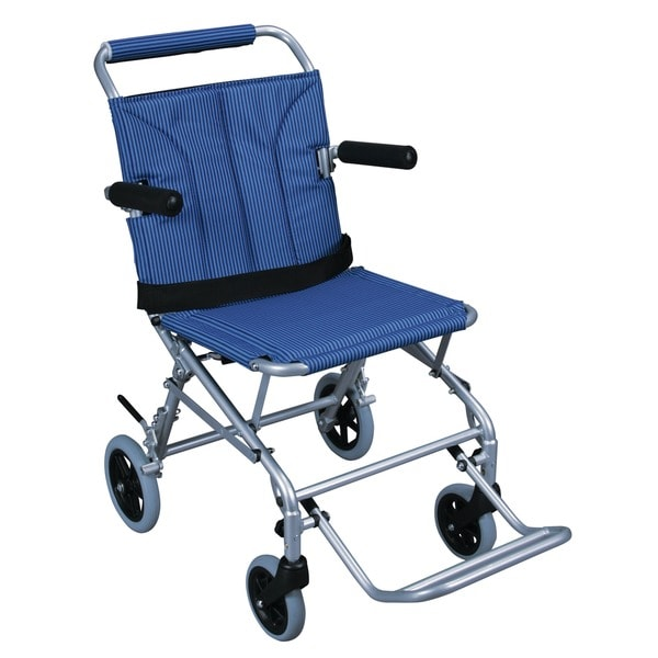 Super Light Folding Transport Chair with Carry Bag