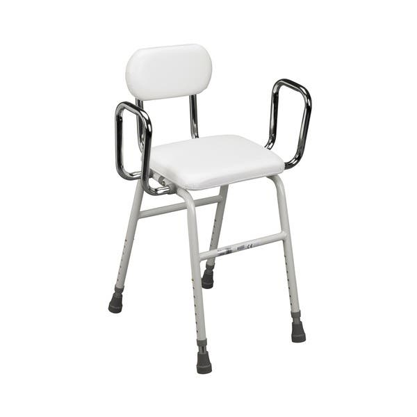 Shop Drive Medical Kitchen Stool - White - Free Shipping ...