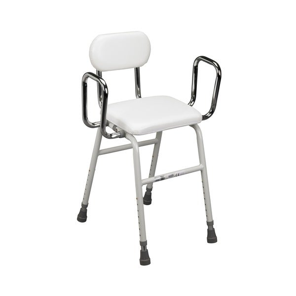 Drive Padded Adjustable Height Kitchen Stool
