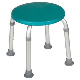 Drive Designer Series Teal Adjustable Bath Stool