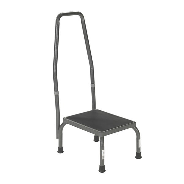 Drive Steel Handrail and Non-skid Rubber Platform Footstool