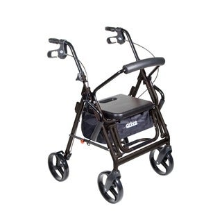 Drive Duet Aluminum Transport Wheelchair Chair Rollator Walker