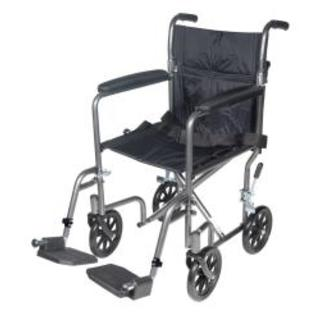 Drive Medical SV Steel Transport Chair