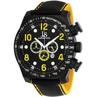 Joshua & Sons Men's Oversized Chronograph Stainless-Steel Sport Watch with Tachymeter|https://ak1.ostkcdn.com/images/products/5274731/P13090343.jpg?impolicy=medium