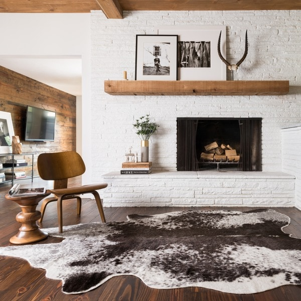 Faux Cowhide Area Rug. Opens flyout.
