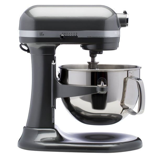Kitchenaid Rkp26M1Xpm Pearl Metallic 6-Quart Pro 600 Bowl-Lift