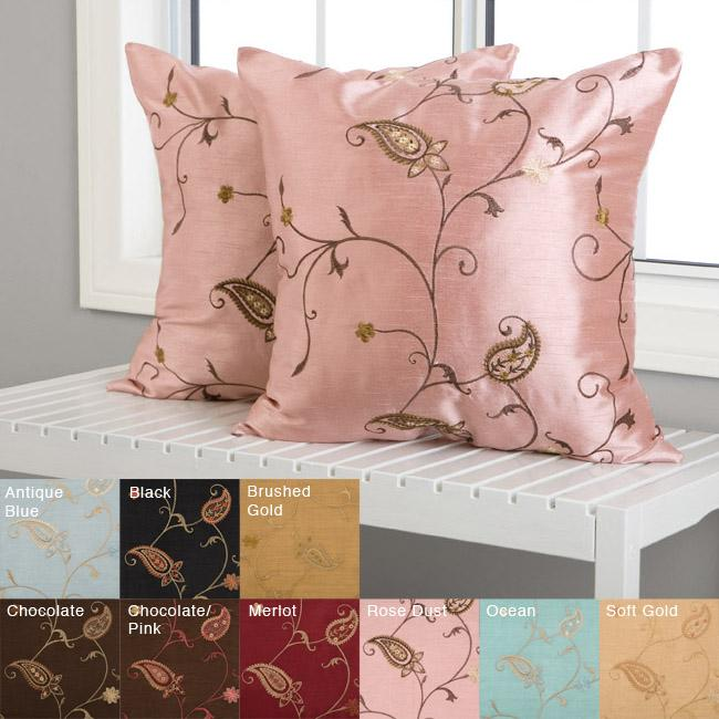 Jakarta 18-inch Decorative Pillows (Set of 2)