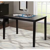Simple Living Shaker Black Dining Table