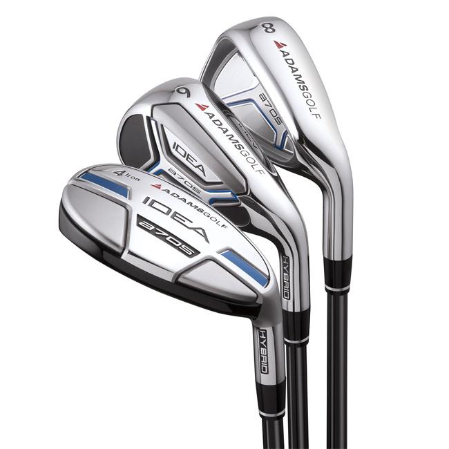 Adams A7OS 3-pw Hybrid/ Iron Combo Graphite Shaft Set