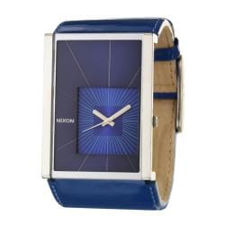 Nixon Women's 'The Motif' Stainless Steel and Leather Quartz Watch