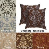 Roman 18-inch Decorative Pillows (Set of 2)