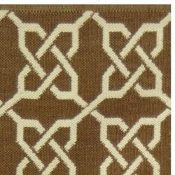 Handmade Thom Filicia Tioga Saddle Indoor Outdoor Rug 2