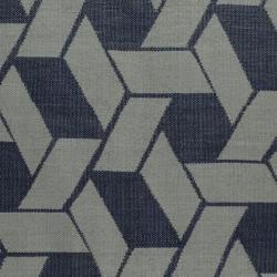 Handmade Thom Filicia Durston Indigo Outdoor Indigo Rug (5' x 8')