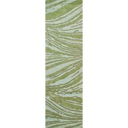"Handmade Thom Filicia Niagra Spring N.Z. Wool Runner - 2'6"" x 8'"