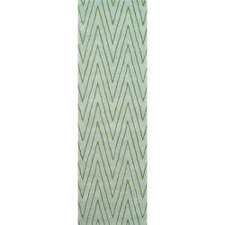 """Thom Filicia Griffith Park Sea Glass N.Z. Wool Runner - 2'6"""" x 8'"""