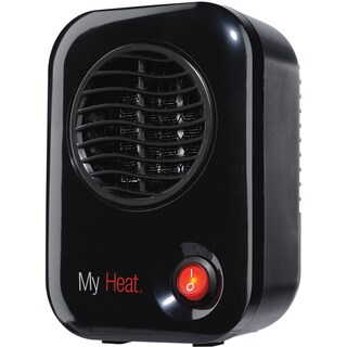 Lasko 100 Black My Heat Personal Heater