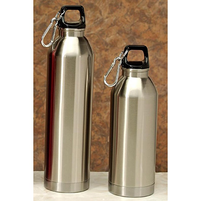 Stainless Steel Water Bottles (Pack of 2)