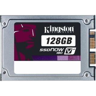 "Kingston SSDNow V+ 180 SVP180S2/128G 128 GB 1.8"" Internal Solid State"