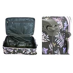 Rockland Garden Expandable 4-piece Luggage Set