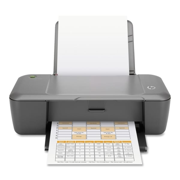 HP Deskjet J110A Inkjet Printer - Color - 4800 x 1200 dpi Print - Pla