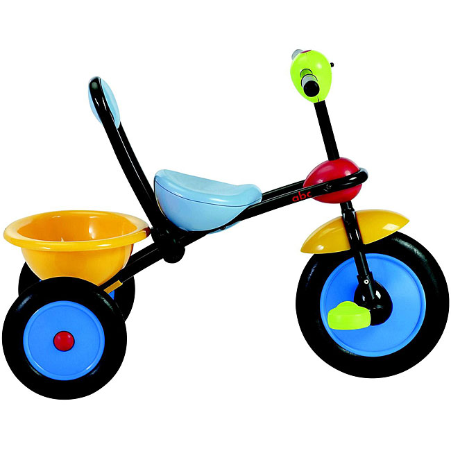 Italtrike Rear Tipping Bucket ABC Tricycle