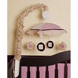 Pink Artist Musical Mobile